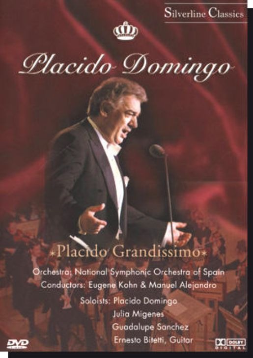 PLACIDO DOMINGO : Placido Grandissimo